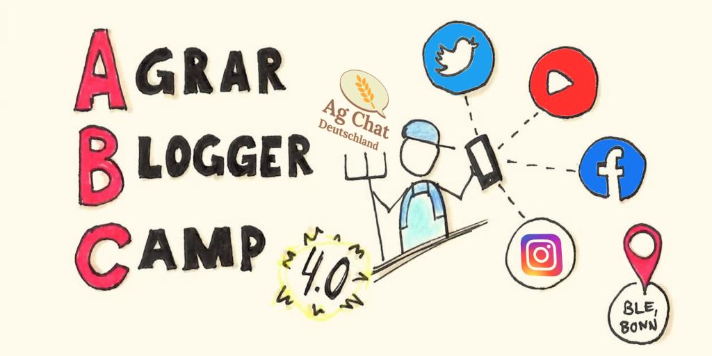 Grafik zum 4. Agrarbloggercamp
